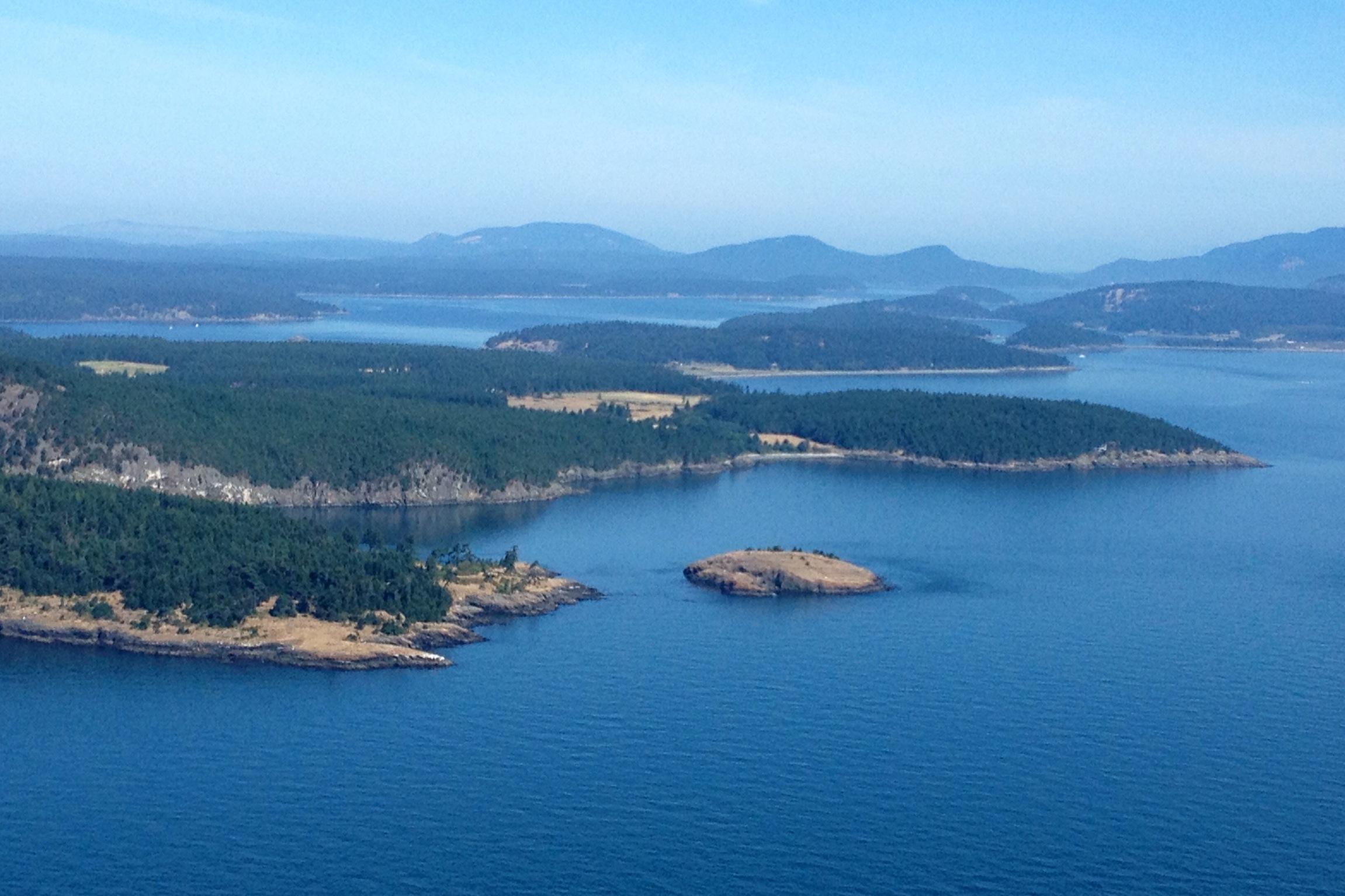 Frost Island San Juan Islands